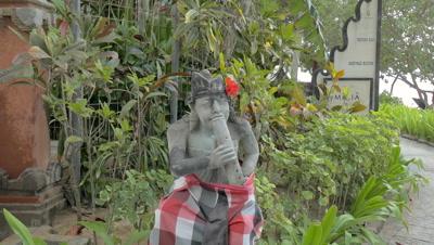 Stone Statue at Nusa Dua Beach, Bali, Indonesia