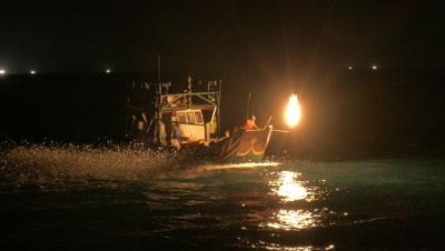 Sulfuric Fire Fishing, Taipei, Taiwan