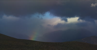 Sierra Nevada rainbow