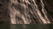 Close Up Of Waterfall
