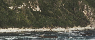 Coastal Views of Chiloe Island, Chile