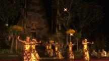 Male Traditional Dancers In Bali