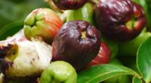 Malay Apple, Mountain Apple, Syzygium Malaccense, Fruit