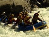 White Water Rafting Shotover River Nr Queenstown N.Z.