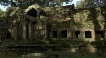 Time Lapse Of Shadows Moving Over The Angkor Ruins