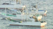 Mws Drive Boats With Fisherman Banging On Pipes