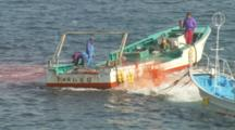 Gutted Dolphins Pulled Off Of Slaughter Barge 2