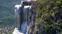 Hierve El Agua, Spring-Fed Rock Formation
