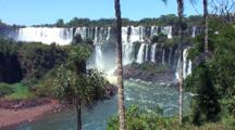 Panoramic Shot, Then Zm To Tight Shot Waterfall