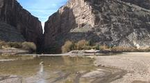 Santa Elena Canyon; Zoom, Pullback; Big Bend National Park, Rio Grande