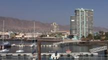 Pan Small Boat Harbor And Coastline--Antofagasta, Chile