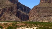 Santa Elena Canyon--Big Bend National Park