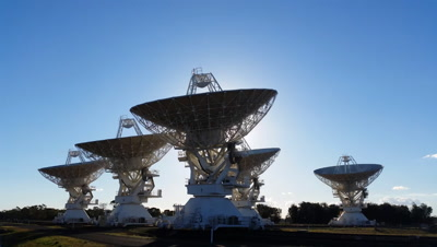 Satelite Dishes - Radio Telescope Compact Array - Space Science