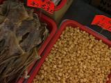 City Street Market Selling Dried Seafood Products