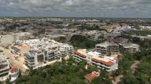 Aerial Over Yucatan City, Possibly Cancun