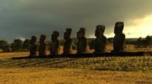 Moai Statutes Easter Island