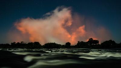Spray view, Zambezi river