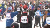 American Birkebeiner, Behind The Scenes, Behind The Finish Line, 5 Below Zero, Racers Processing After The Race