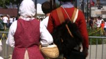 British Era Dress, Costumes, Festival Goers At Tall Ship Festival, Green Bay