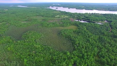 Northern Hardwood Forest and Lakes, Slow Retreat