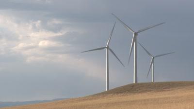 Wind Turbine Royalty Free Stock Footage