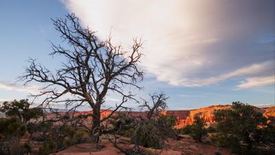 Sunset Time Lapse on a Slider in the Utah Desert