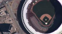 Aerial View Of Baseball Stadium, St. Louis, Mo